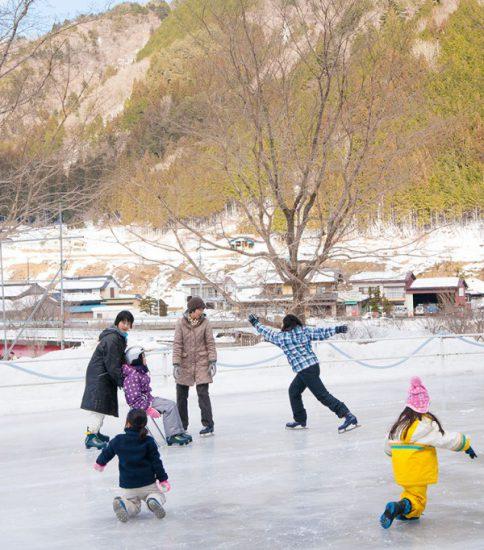 『手づくりのスケートリンクと雪国暮らし体験ツアー』開催しました!