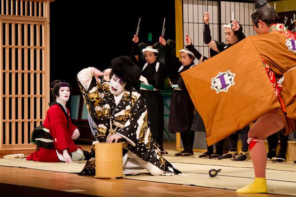 気良歌舞伎、松王丸