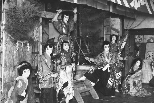 昔の地歌舞伎