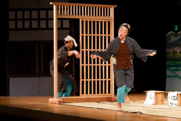 気良歌舞伎、涎くり