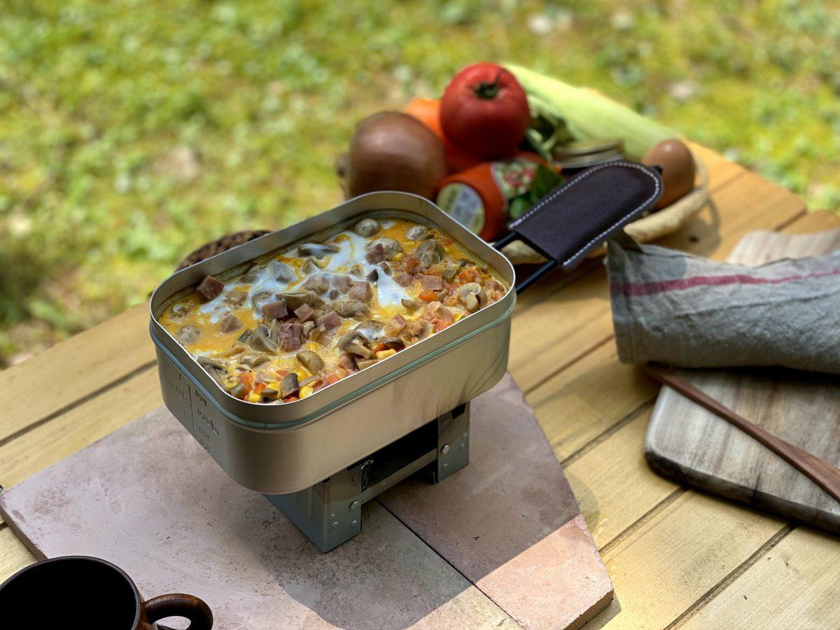 明宝流 地元食材でキャンプ飯!